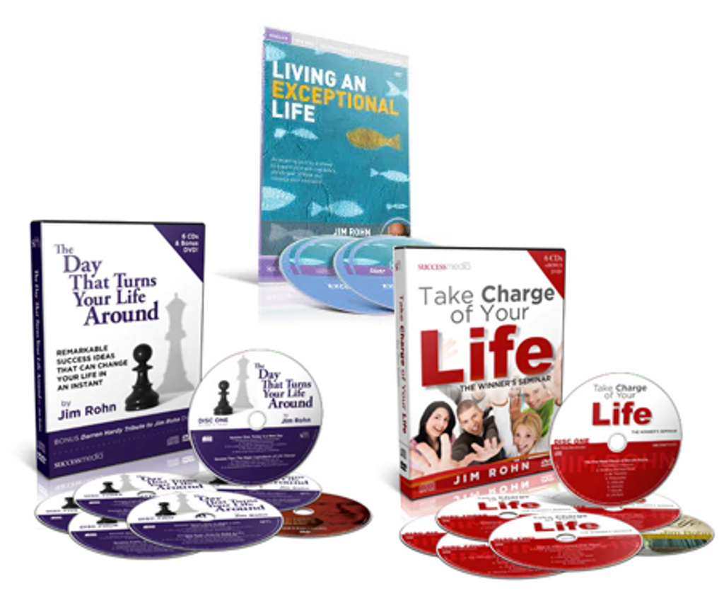 Jim Rohn New Year Package 1