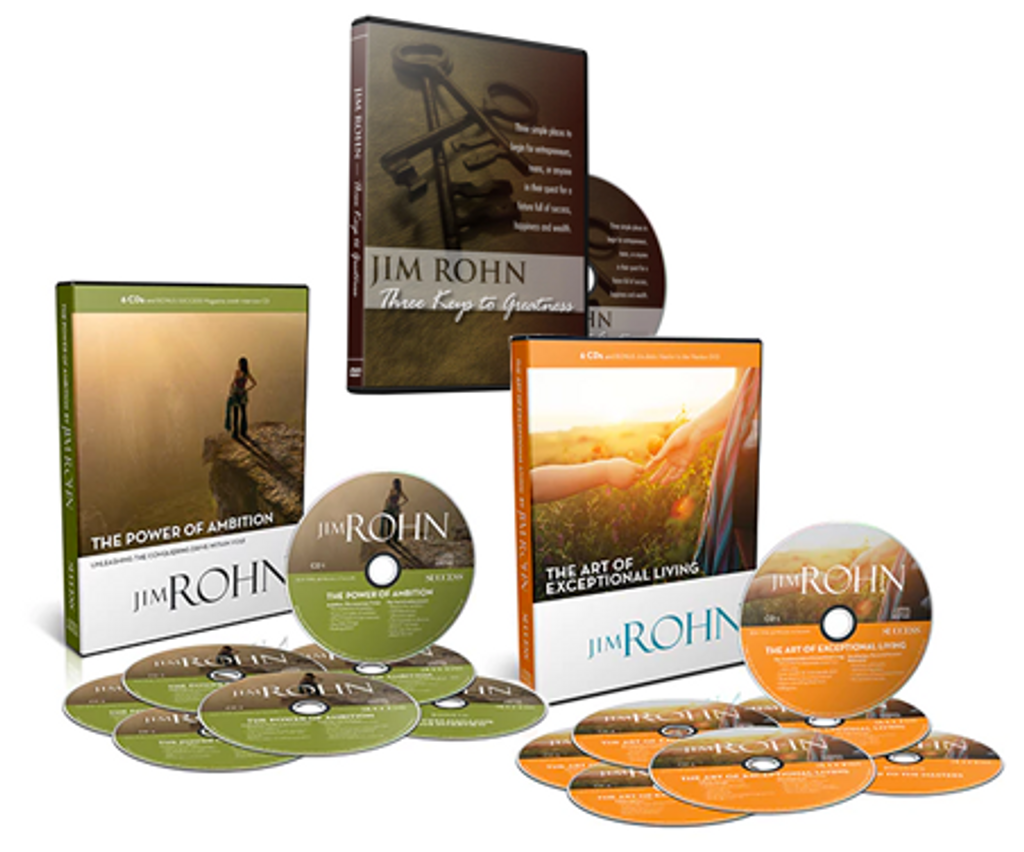Jim Rohn Gift Package 2