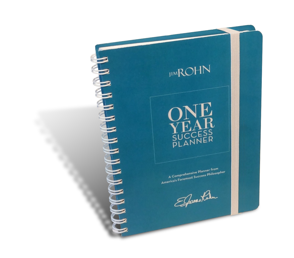 Jim Rohn One-Year Success Planner