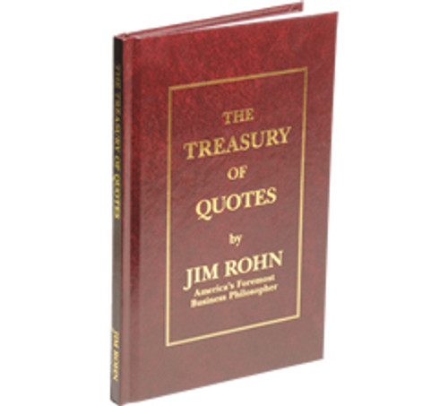 The Treasury of Quotes by Jim Rohn (Hardcover)