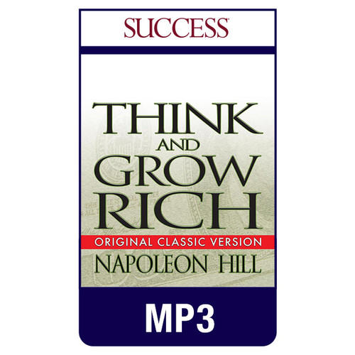 Think and Grow Rich MP3 download audiobook by Napoleon Hill