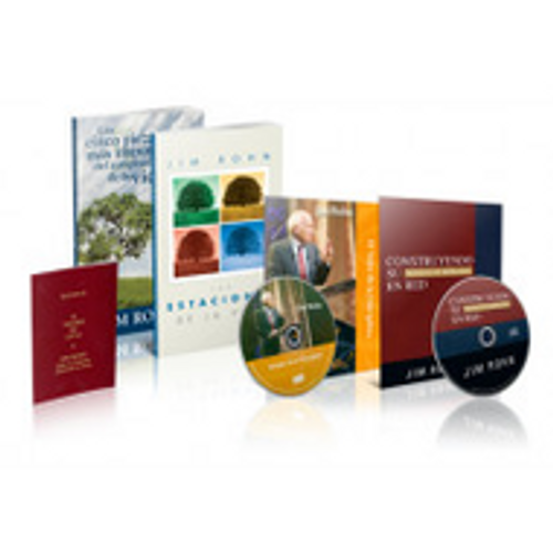 Jim Rohn Spanish Starter Sampler Set