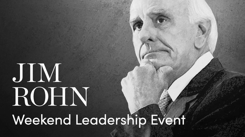 Jim Rohn Weekend Leadership Event