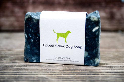 Charcoal Dog Soap Bar