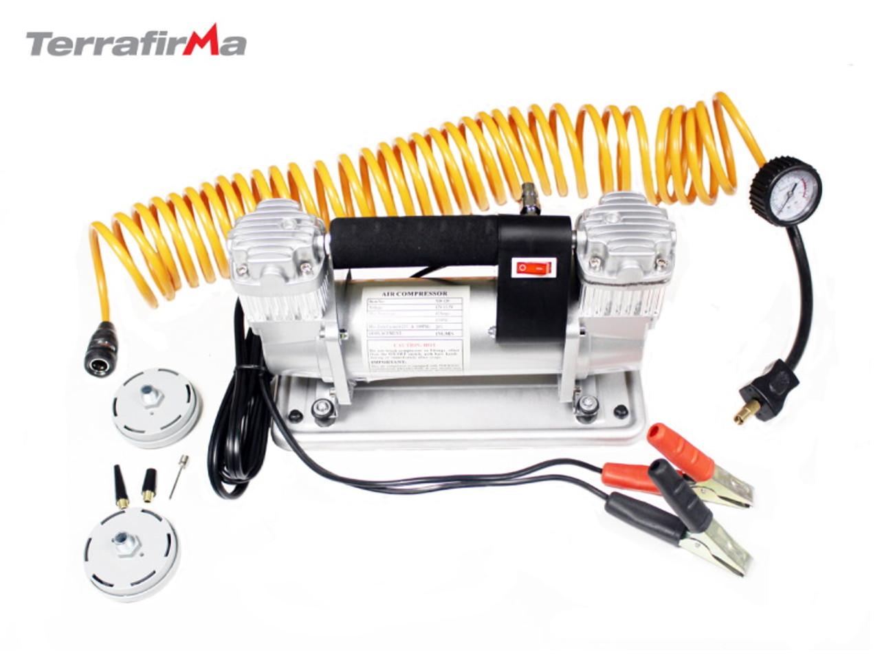 Double Pump Portable Air Ccompressor