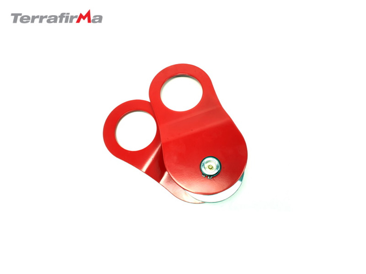 TERRAFIRMA RED SNATCH BLOCK WITH GREASE FITTING