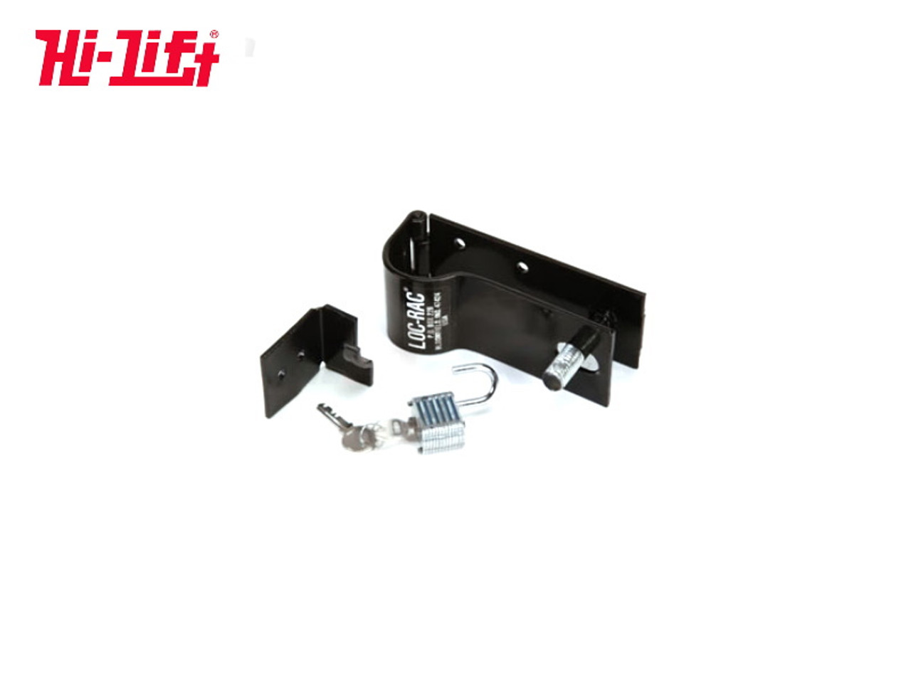 LOCKABLE TRUCK BED OR ANY FLAT SURFACE MOUNTING KIT FOR ALL HI-LIFT JACK