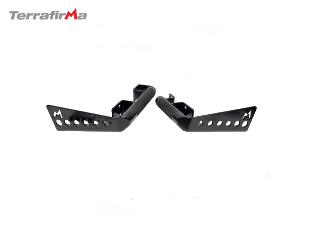 Terrafirma Heavy Duty Rear Bumper Corners For Defender 90 With Spare Wheel Carrier