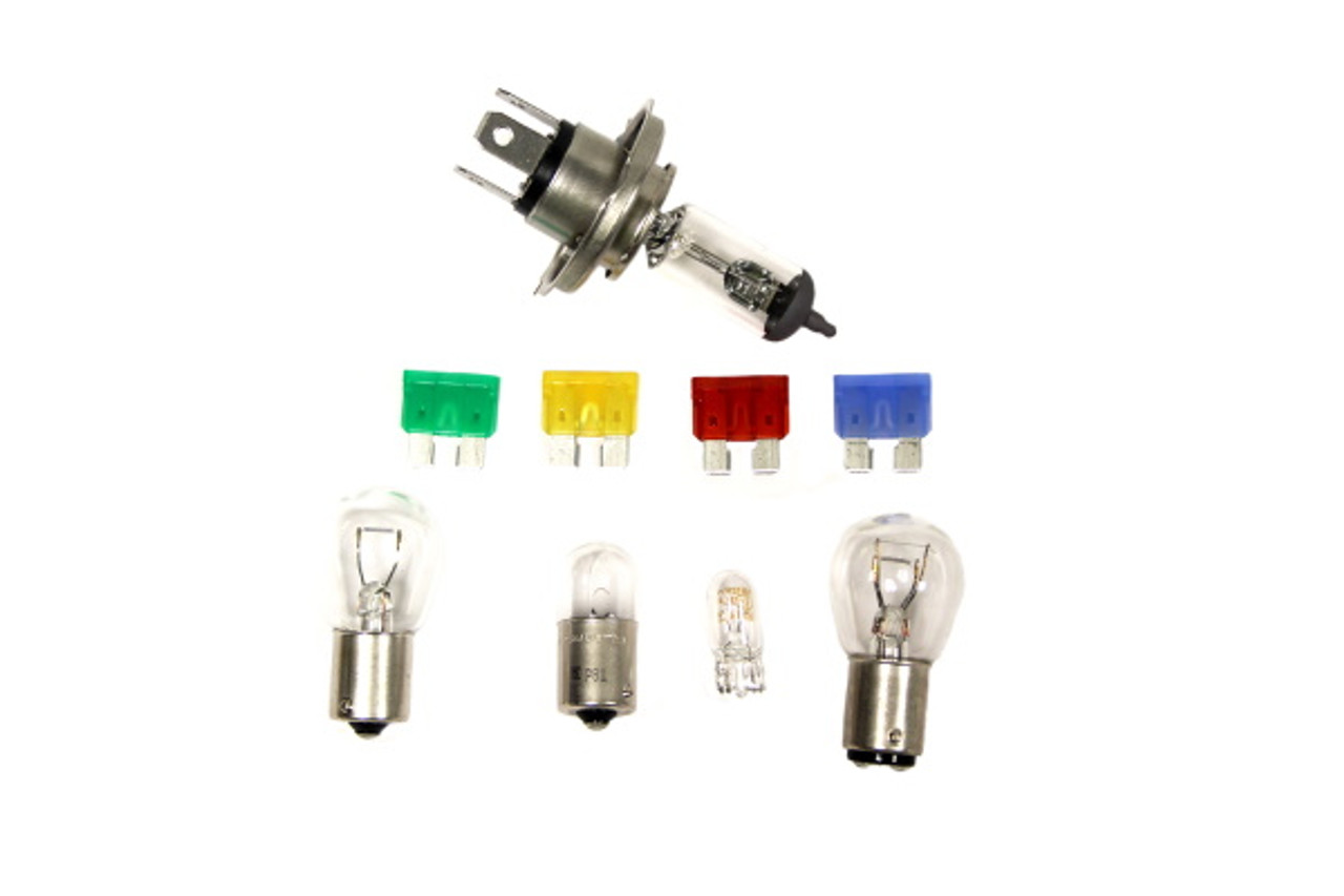 EEC APPROVED EMERGENCY BULB AND FUSE KIT