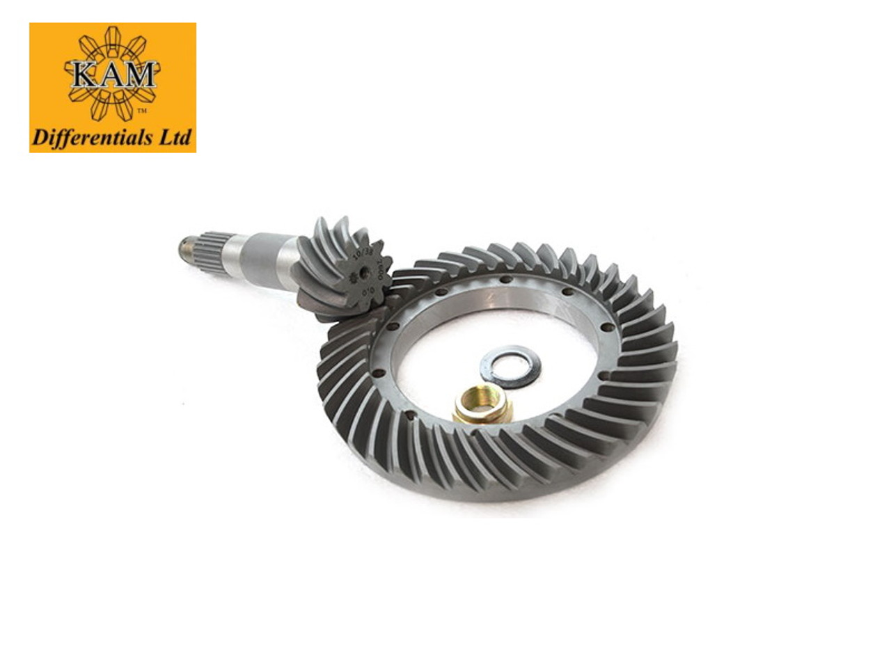KAM 3.8 CROWN WHEEL&PINION FRONT(LONG NOSE ROVER DIFF)