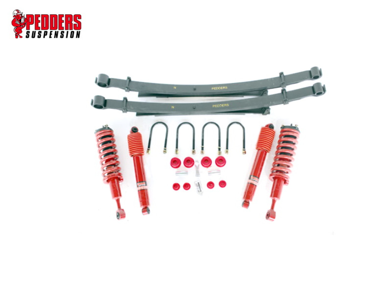 ISUZU D-MAX 2012 - 2017 SUSPENSION KIT 40MM LIFT COMFORT RIDE