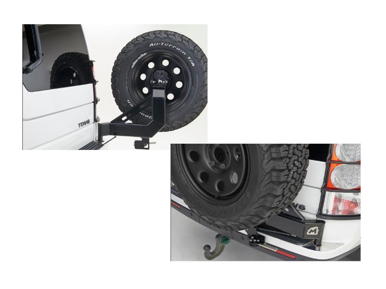Terrafirma D3/4 Swing Away Spare Wheel Carrier