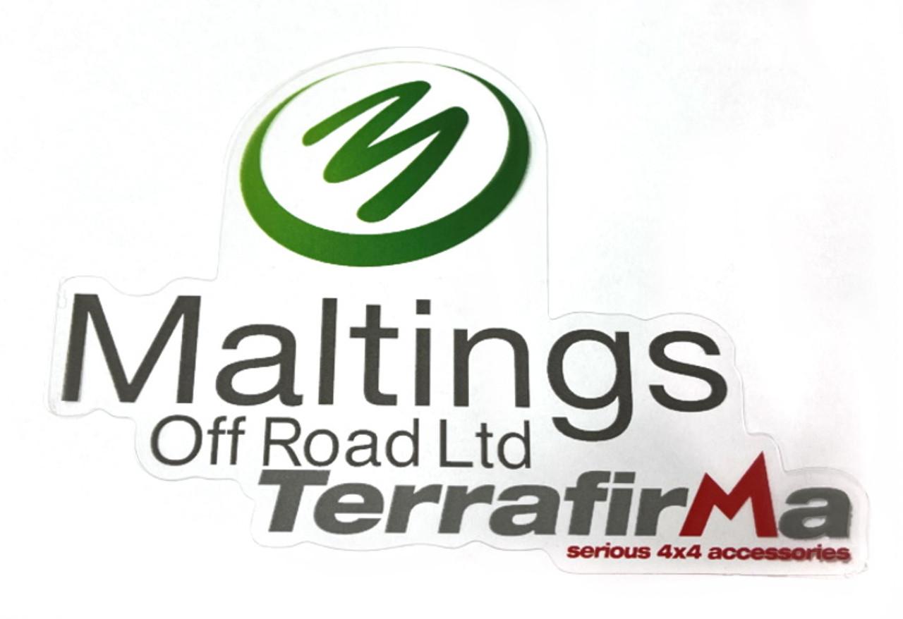 Maltings Off Road Terrafirma Sticker