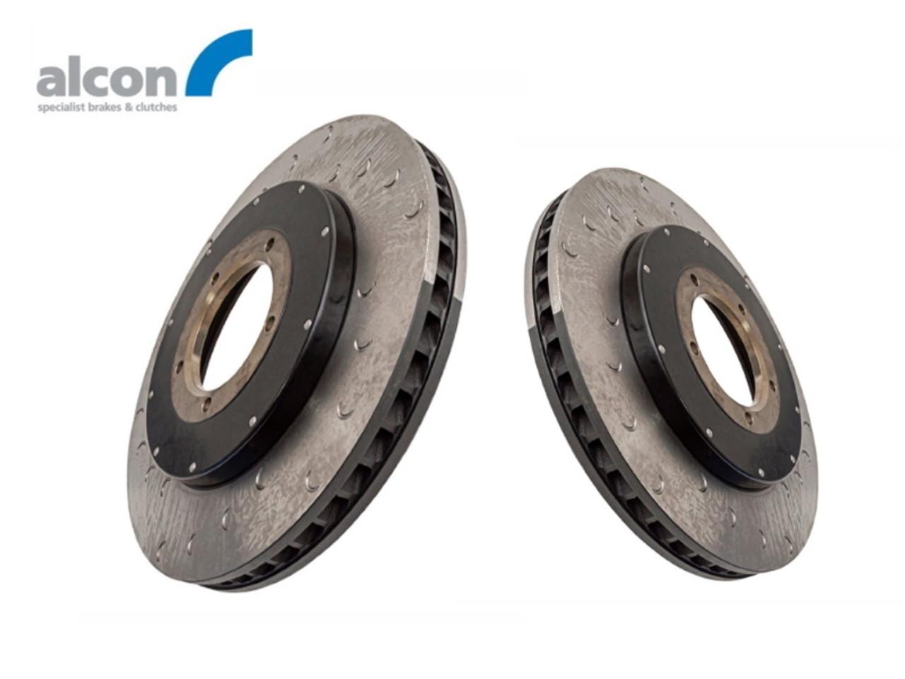 Alcon Defender 18 Inch Front Brake Kit Replacement Disc Set - DA2709/10