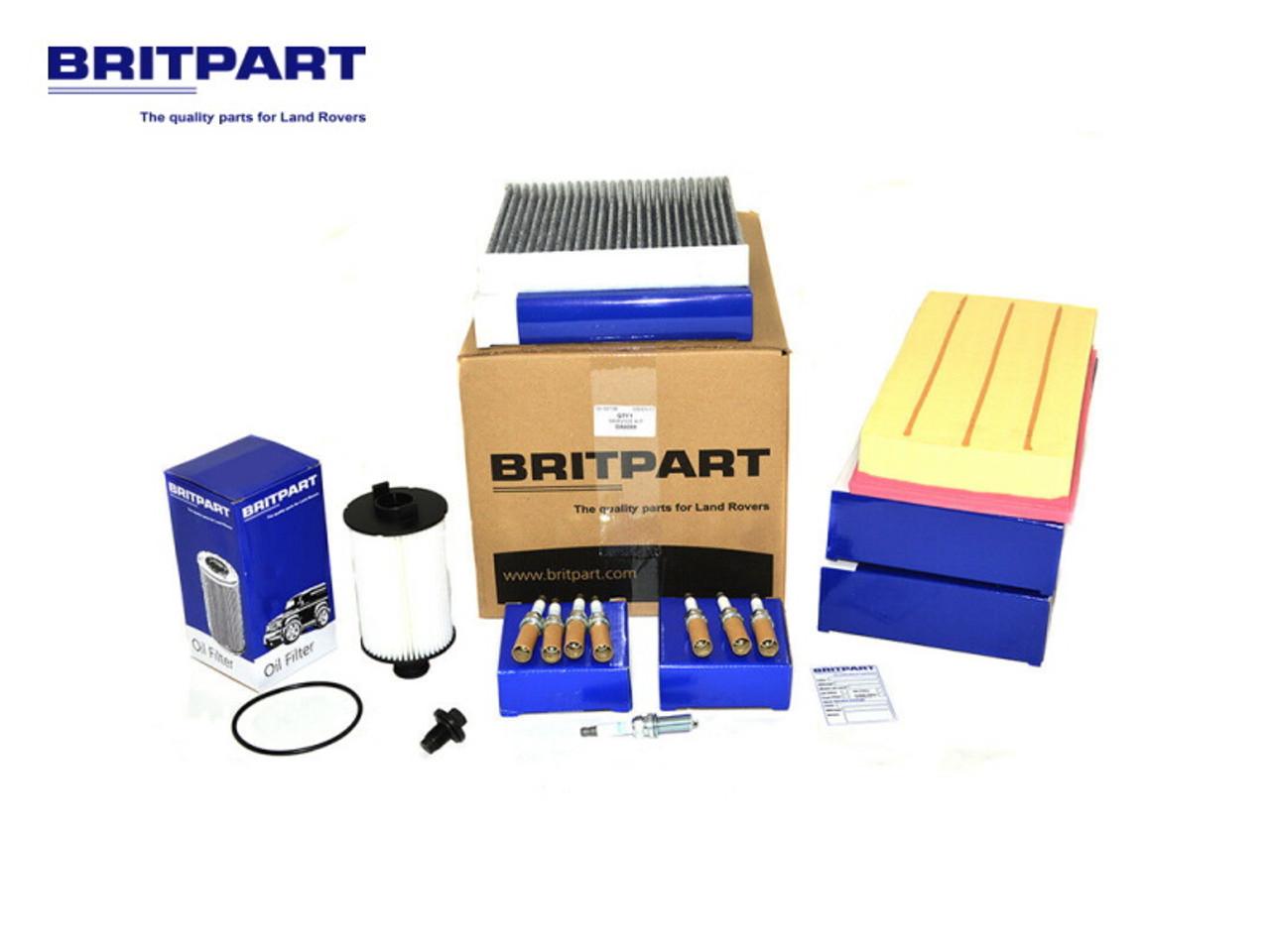Britpart Range Rover L405 And L494 5.0 V8 Service Kit - DA6099