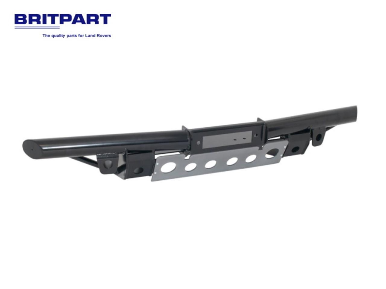 Britpart Black Tubular Winch Bumper Without Air Con - DA5622