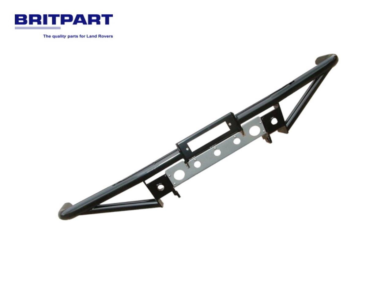 Britpart Black Tubular Winch Bumper - DA5604