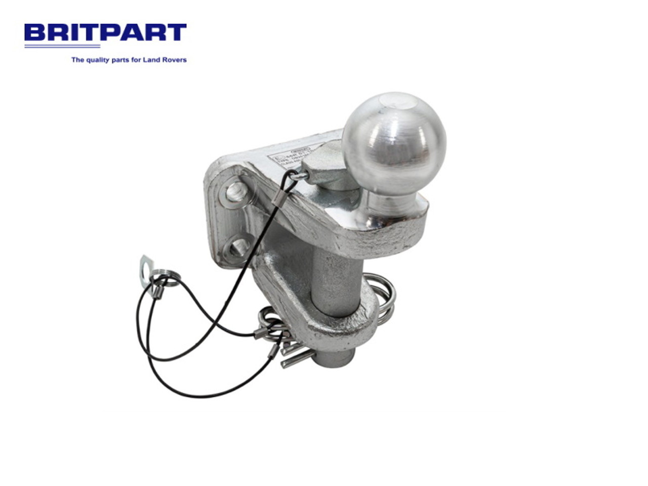 Britpart Dixon Bate Heavy Duty 4 Bolt Mounted Ball, Jaw And Pin - 201691