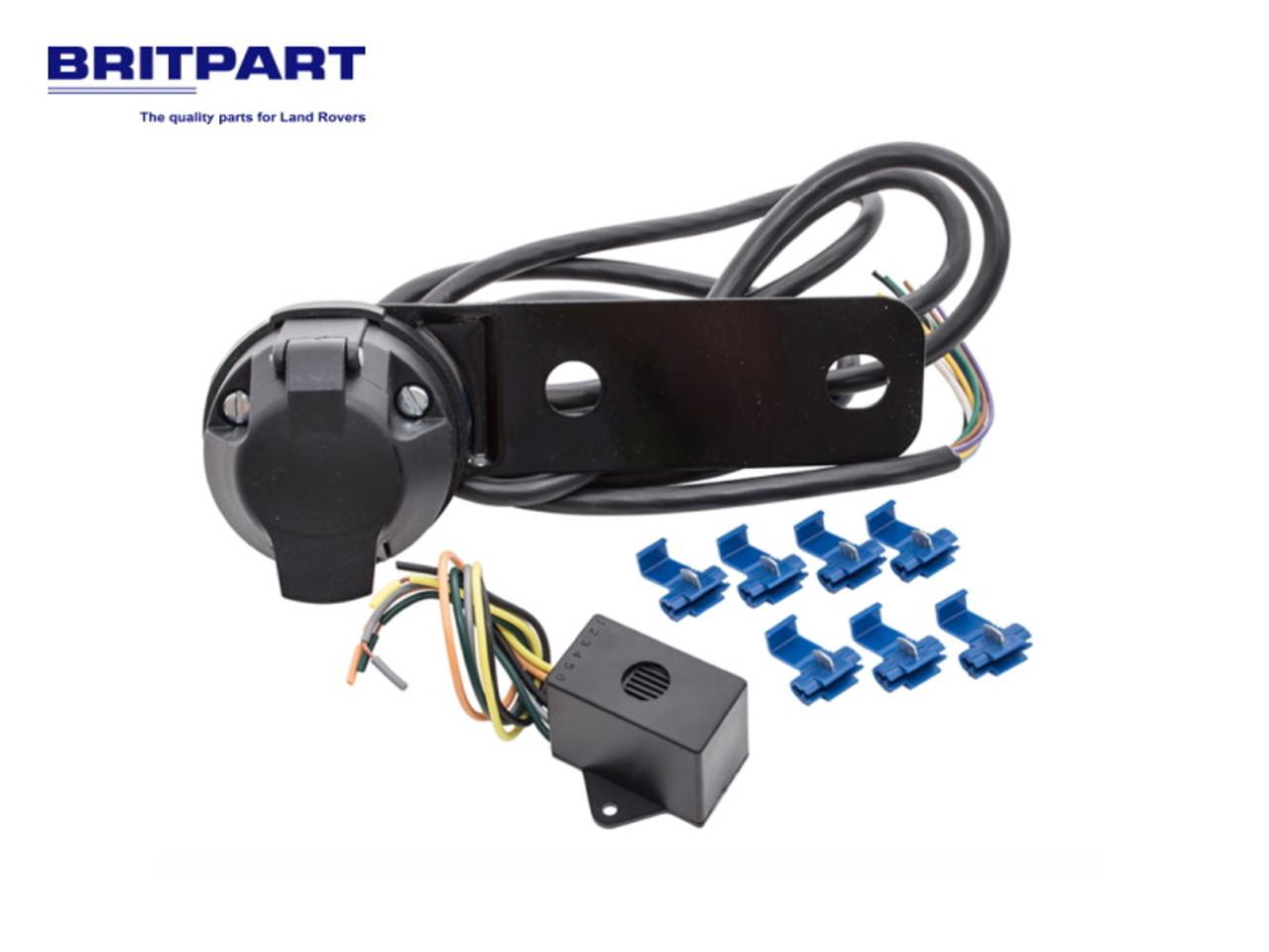 Britpart 7 Pin Universal Socket Assembly  - RTC8872
