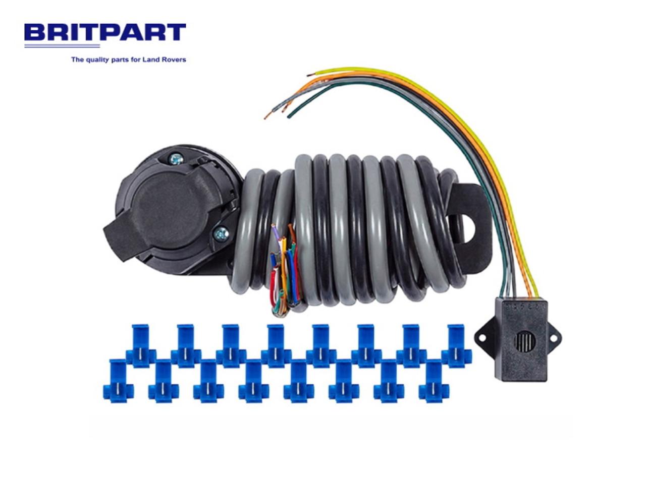 Britpart 13 Pin Universal Socket Assembly  - DA1882