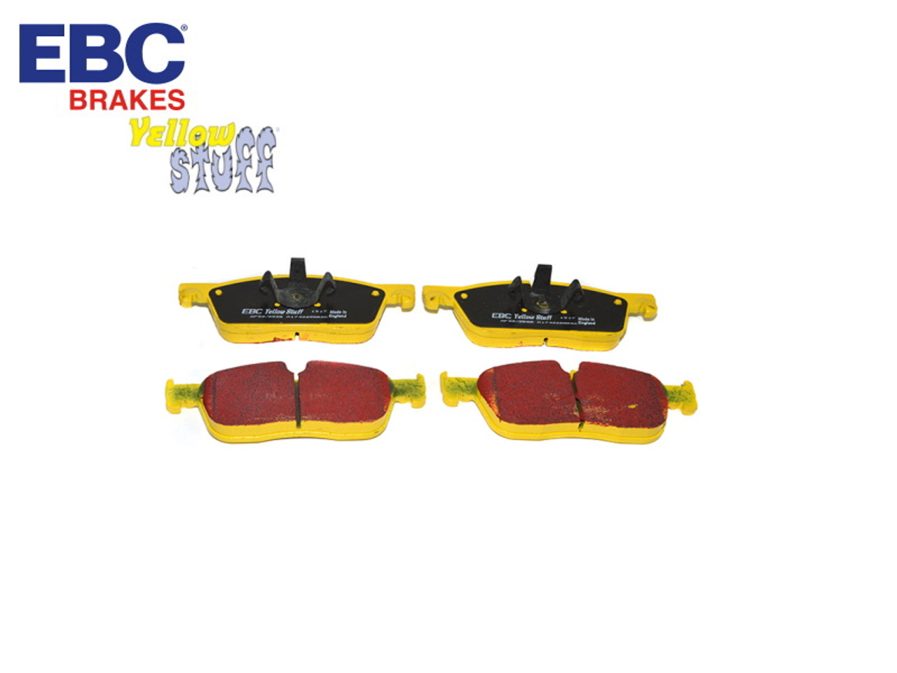 EBC Yellowstuff Range Rover And Discovery Front Brake Pads (LR072681) - DA4902