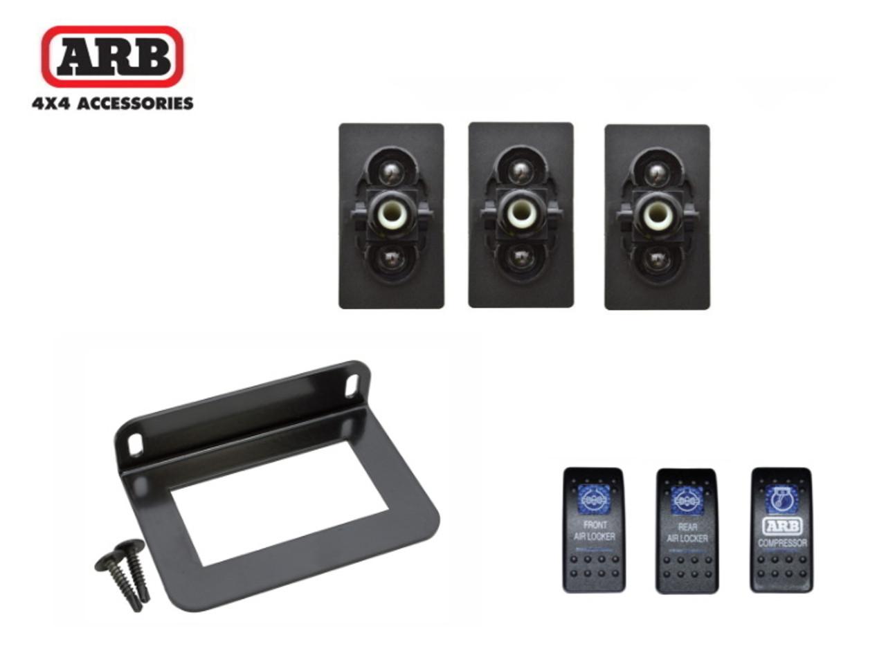 ARB Switch Bracket With 3 Switches - DA8961KIT