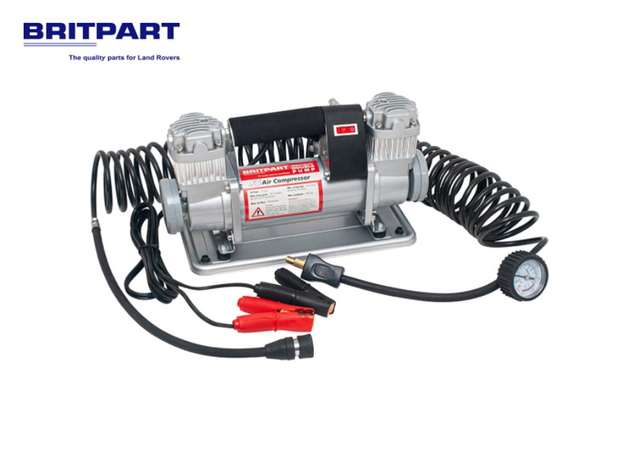 Britpart XS Portable Dual Air Compressor - DA2392XS