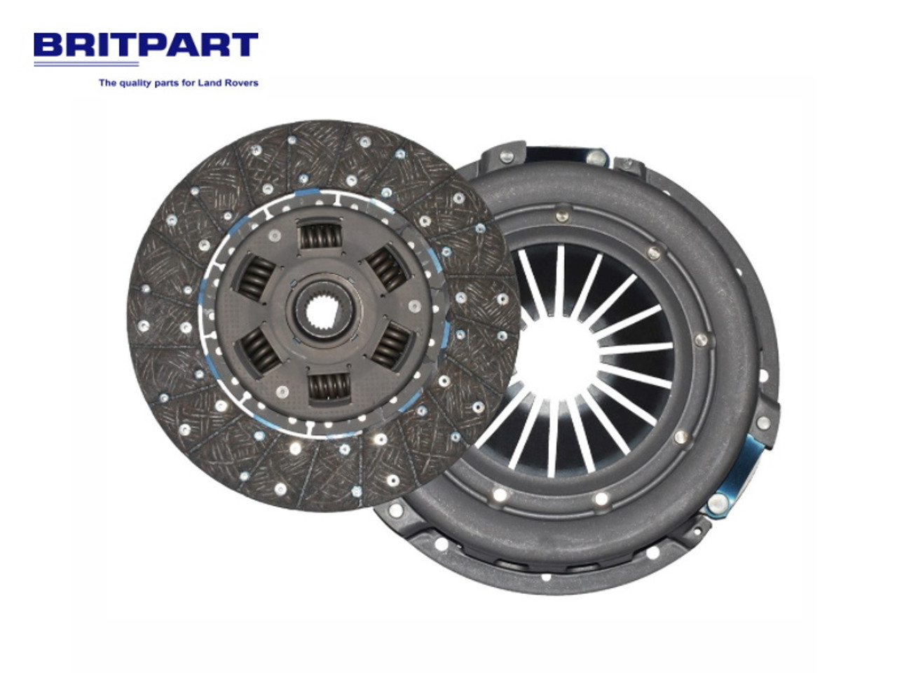 Britpart Td5 Heavy Duty Solid Flywheel Replacement Clutch Kit - DA2357CP
