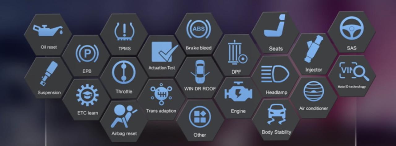 Icarsoft LR V3.0 Hand Held Scanner For Land Rover - TF950