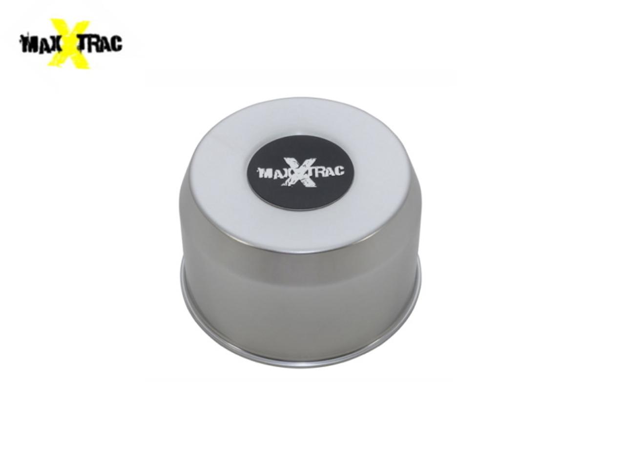 MaxXtrac Mach 5 Silver Alloy Wheel Centre Cap - DA2477