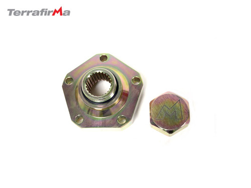 DEFENDER HEAVY DUTY DRIVE FLANGE FOR EARLY WIDE TYPE FLANGE