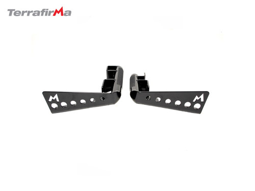 Terrafirma Heavy Duty Rear Bumper Corners For Defender 110 With Spare Wheel Carrier