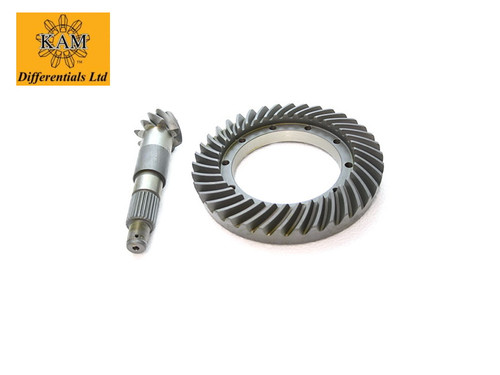 KAM 4.75 Crown Wheel And Pinion Front (Long Nose Rover Diff)