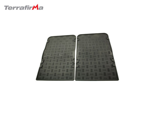 Exmoor Tailor Fitted Defender Rear Rubber Mats