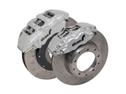 Alcon Defender Ultimate Brake Upgrade Kit With Silver Calipers