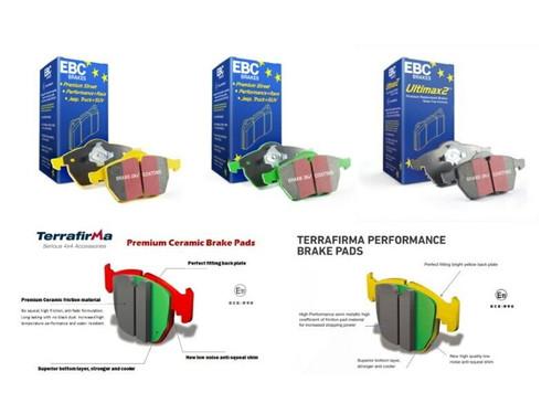 EBC Performance Rear Brake Disc Set