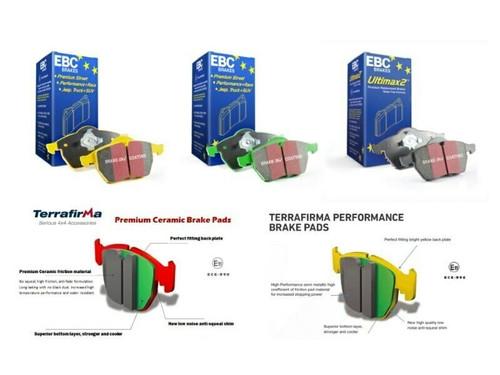 EBC Performance Rear Brake Disc Set For Defender 110