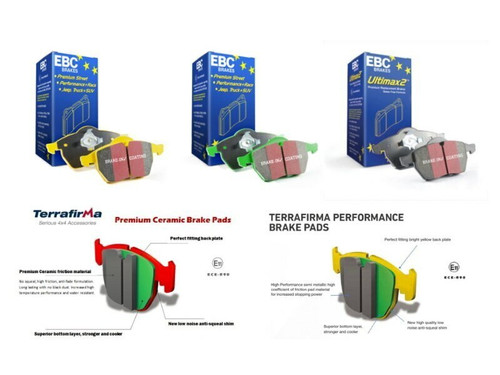 EBC Performance Rear Brake Discs (SDB000646)