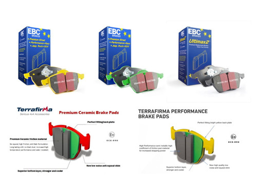 EBC Performance Rear Brake Discs (LR001018)