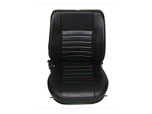 Britpart Black Vinyl RH Seat Base And Back Defender