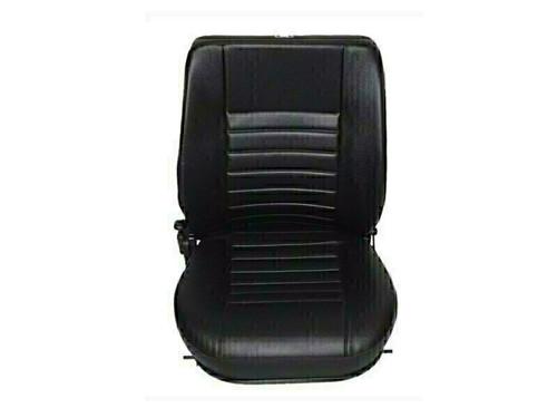 Britpart Black Vinyl LH Seat Base And Back Defender