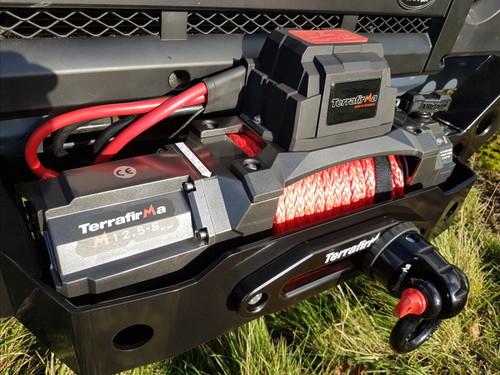 Terrafirma M12.5S 12V Electric Winch With Wireless Remotes - TF3320