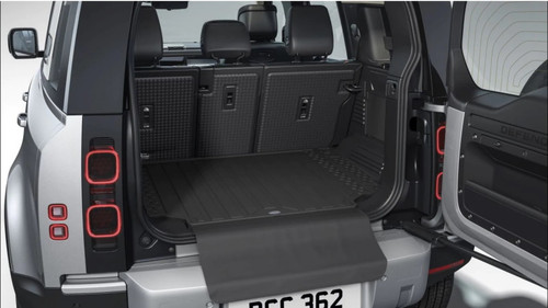New Defender 110 Genuine Loadspace Rubber Mat With Bumper Protector - VPLES0566LR