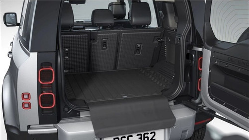 New Defender 110 Genuine Semi Rigid Loadspace Protector With Bumper Protector - VPLES0570LR