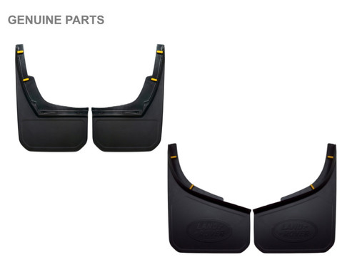 New Defender Genuine Front And Rear Classic Mud Flaps - VPLEP0387LR