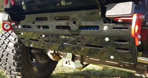 Terrafirma Defender Gloss Black Skeleton Alloy Steering Guard - TF0017