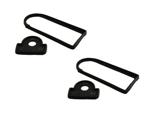 XS Enhancement Gloss Black Door Handle Set - DA6894 - DA6895