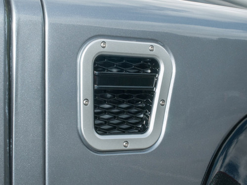 XS Enhancement Silver With Black Mesh RH Intake Grille - DA1971