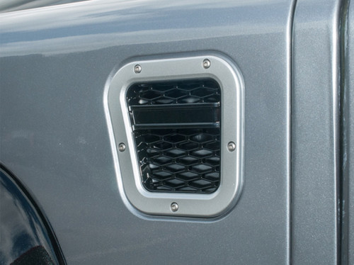 XS Enhancement Silver With Black Mesh LH Intake Grille - DA1973