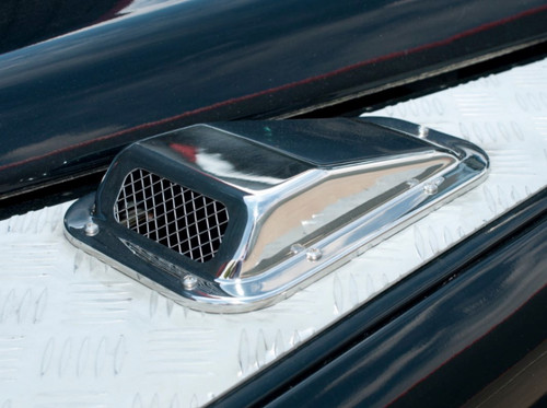 Britpart Stainless Steel Bonnet Vent - DA4000SS